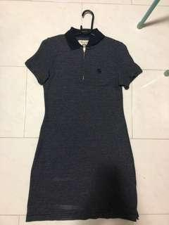 Abercrombie Striped Polo Dress