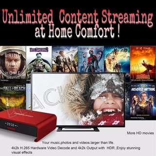 🚚 High Quality Performance Android Box for Movie Dramas Live TV Streaming