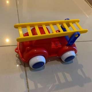 Firetruck mainan plastik