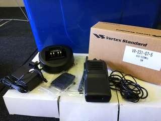 Vertex Standard VX-231 Walkie Talkie