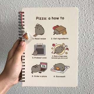 Pusheen Cat Cute Notebook