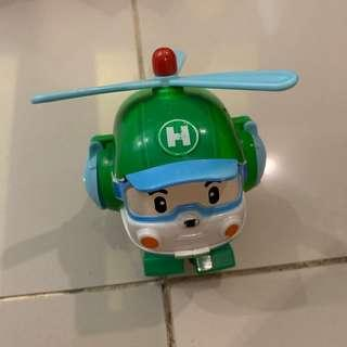 Helicopter robo transformer