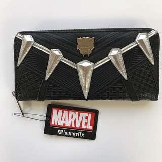 全新包郵 Loungefly x Marvel Black panther wallet 黑豹銀包