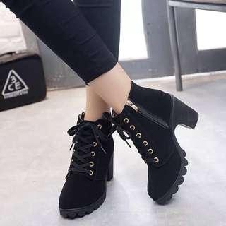 Korean High Ankle Boots size 7
