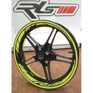 Set Rim Sticker Yamaha R15 V3