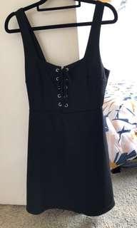Lace up dress size 8