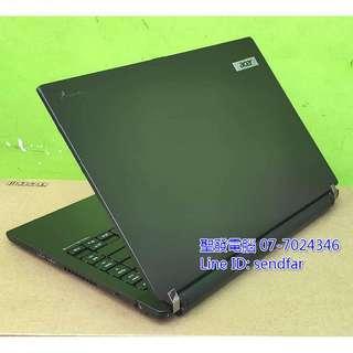 🚚 高效輕薄獨顯 ACER TM8481G i7-2637M 8G 480SSD 獨顯 14吋筆電 聖發二手筆電