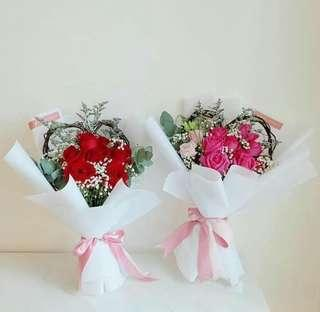 Korean Heart Bouquet Package
