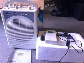 Danmax Wireless PA sound system