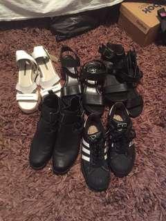 Bulk shoes / individual shoes