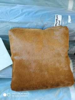 Genuine Cowhide throw cushion civers