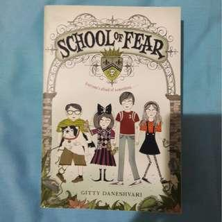 School of Fear by Gitty Daneshvari [ENG]