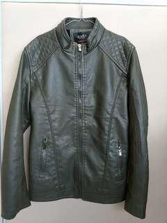 Jaket Kulit Zara Authentic