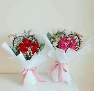Heart Bouquet Package