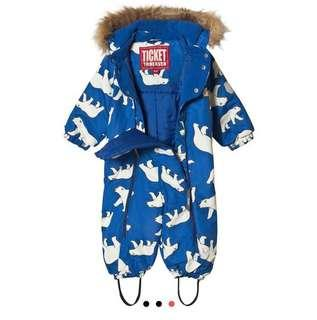 🚚 Ticket to Heaven Snow Suit for 18 months