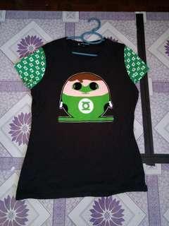 DC Egg Green Lantern Female Shirt