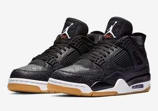 🚚 Jordan 4 Black Laser US 8.5