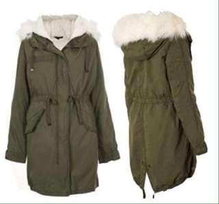 Topshop Winter Parka