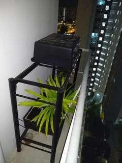 4 Feet Rack and 4 Feet Fibre Glass Tank