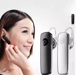 Stereo Headset Bluetooth Earphone Headphone Mini Wireless Handfree Universal For Smartphone Android Iphone