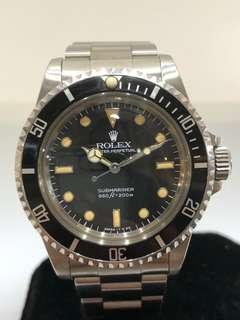 "Rolex Submariner 5513, Gloss ""Spider"" Dial"