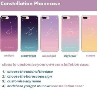 PO - CUSTOMISABLE CONSTELLATION PHONECASE