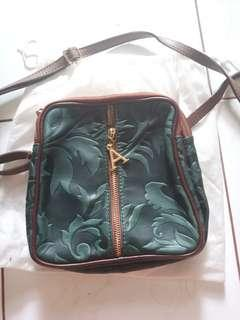 Tas kulit Pelletteria alexander bag was bought di italy  #paydaymaret