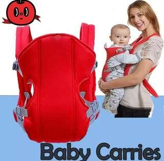 Infant baby carrier backpack front and back carrying bag