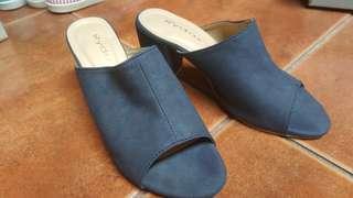 Brand New Dress Shoes Slip On Formal Navy Blue