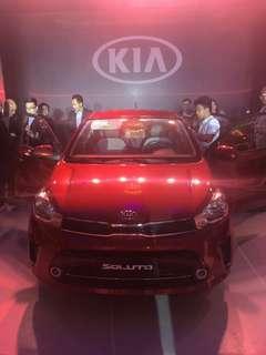 2019 Kia Soluto 1.4 Manual Transmission