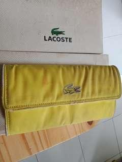 Dompet Lacoste Yellow