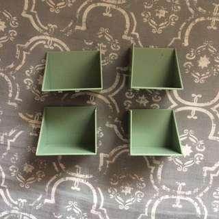 GREEN MINI SHELVES