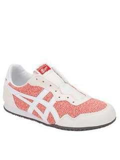 Onitsuka Tiger Serrano Slip-on Casual Shoes in Red-Cream