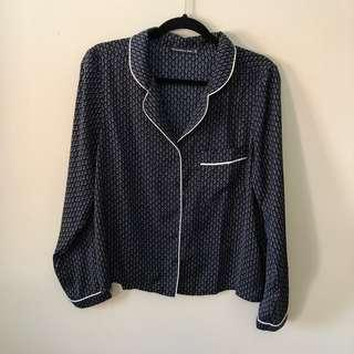 NWOT Abercrombie & Fitch Pajama Top (M)