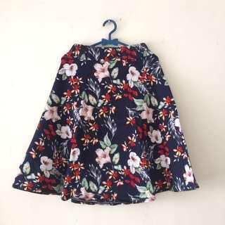 Floral Skirt #CNY2019