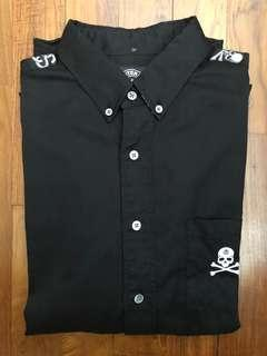 Stussy x Mastermind LS shirt