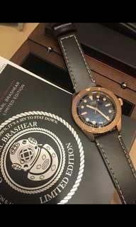 Oris Diver 限量版潛水銅錶