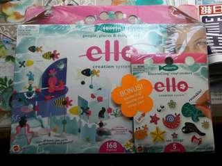 Ello 拼砌玩具 168pcs