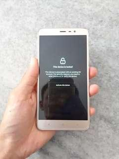 Redmi Note 3 3gb ram 32gb rom SD650