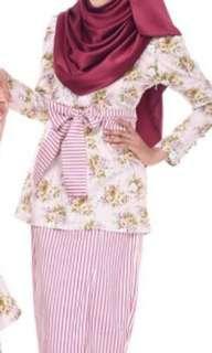 Baju Kurung Cotton (Button My Buttons) #SparkJoyChallenge