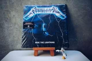 Vinyl | Piringan Hitam | Metallica - Ride The Lightning