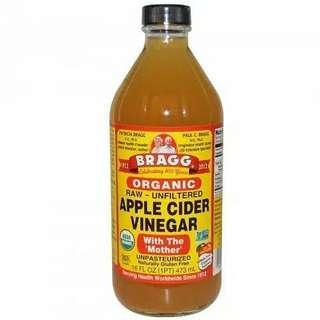 (ORIGINAL) BRAGG Organik Apple Cider Vinegar (Cuka Apel) 473ml