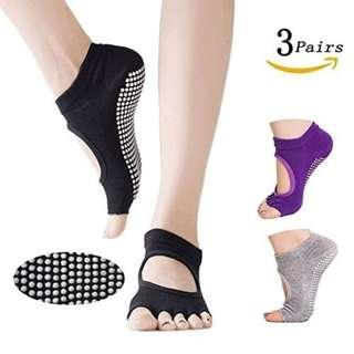Yoga Anti-Slip Socks Brand New