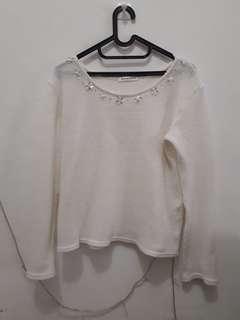 #CNY2019 Sweater putih
