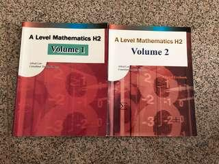 A level Math H2 Volume 1 & 2