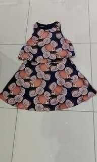 Casual spring summer dress size medium