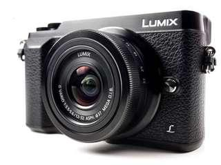 Panasonic Lumix GX85K (12-32)mm + (25mm f1.7) + 16GB card + Bag