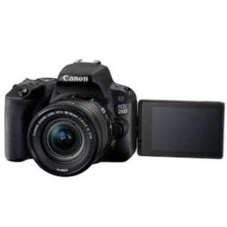 Canon EOS 200D DSLR Camera with 18-55mm Lens Black