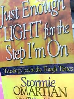 🚚 Stormie Omartian Devotional Just Enough Light For The Step I'm On