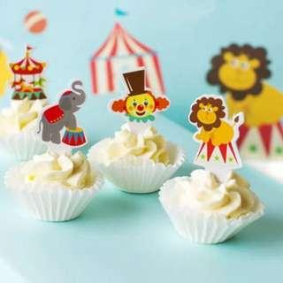 Cupcake Toppers - never used